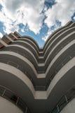 Piękny architektoniczny budynek fotografia stock