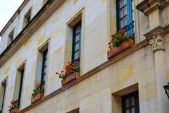 Piękny architektura szczegół w Kolumbia obraz royalty free