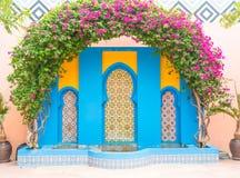 piękny architektury Morocco styl fotografia royalty free