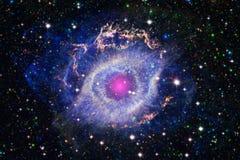 Piękny astronautyczny tło Cosmoc sztuka Elementy ten wizerunek meblujący NASA obrazy stock