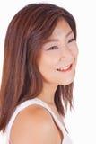 Piękny Azjatycki młoda kobieta portret Fotografia Stock