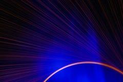 Piękny błękita i redï ¼› uderzenia żelazo kwitnie Zdjęcie Stock