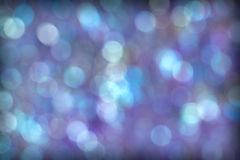 Piękny Błękitny Purpurowy Aqua Bokeh tło Obraz Royalty Free
