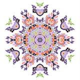 Piękny Barwiony mandala zdjęcie stock