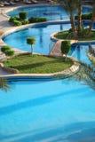 piękny basen opływa Fotografia Stock