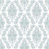 Piękny bezszwowy tapetowy tło z kwiecistym ornamentem Fotografia Royalty Free
