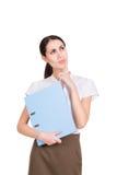 Piękny Biznesowej kobiety główkowanie Fotografia Stock