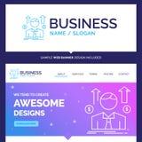Piękny Biznesowy pojęcie gatunku imienia biznes, mężczyzna, avatar, emp ilustracja wektor