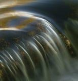 piękny blisko w górę wodospadu Obraz Royalty Free