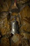 Piękny brązowy dzwon w tle Obraz Stock
