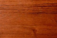 Piękny brown drewniany tło na lacquered textured dykcie Fotografia Stock