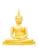 Piękny Buddha wizerunek w Tajlandia Obrazy Royalty Free