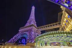 Piękny budynek Paryjski Macao obrazy royalty free