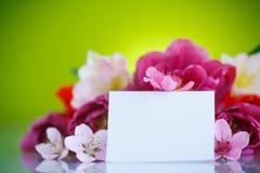 piękny bukiet kwitnie wiosna Zdjęcia Royalty Free