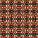 Piękny bukiet Quisqualis Indica kwiat bezszwowy ilustracja wektor