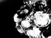 Piękny bukiet z różami ilustracja wektor