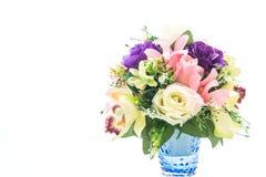 piękny bukieta kwiat w wazie obraz royalty free