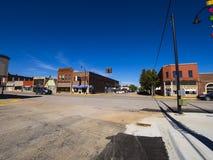 Piękny centrum miasta Stroud 16, 2017 - miasteczko w Oklahoma - STROUD OKLAHOMA, PAŹDZIERNIK - fotografia royalty free