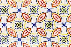 Piękny Ceramiczny Ścienny tekstura wzór W Lisbon zdjęcia stock