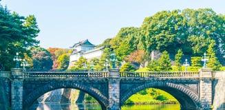 Piękny Cesarski pałac budynek w Tokio Zdjęcie Stock