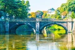Piękny Cesarski pałac budynek w Tokio Obraz Stock