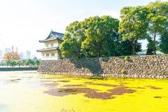 Piękny Cesarski pałac budynek w Tokio Zdjęcie Royalty Free