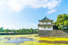 Piękny Cesarski pałac budynek w Tokio Obrazy Stock
