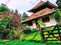 Piękny chińczyka dom obraz stock