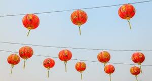 Piękny Chińskiego stylu lampion zdjęcie stock