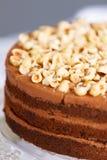 piękny ciasto torty i macaroons Słodki wakacyjny bufet z babeczkami, tortami i innymi słodkimi deserami, obrazy stock