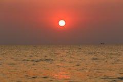 Piękny cloudscape nad dennym wschodu słońca strzałem Zdjęcia Royalty Free