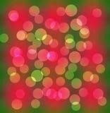 Piękny colourful abstrakcjonistyczny kółkowy bokeh tło obraz royalty free