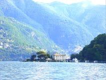 Piękny Como w Włochy Obrazy Royalty Free