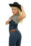 piękny cowgirl Zdjęcia Royalty Free