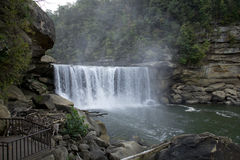 piękny Cumberlandu upadku narażenia falls Kentucky krajobraz długo Zdjęcia Royalty Free