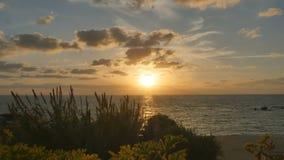 Piękny Cypr zmierzch zbiory
