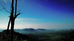 Piękny czasu upływ przy wzgórzem w Perlis Malezja zdjęcie wideo
