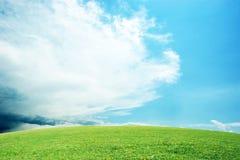 piękny czyścić krajobraz Obrazy Royalty Free