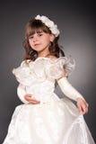 piękny dancingowy mały princess Obrazy Stock