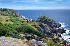 Piękny denny brzeg na Kullen półwysepie Zdjęcia Royalty Free