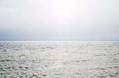 Piękny denny ocean w słonecznym dniu zdjęcie stock