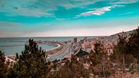 Piękny denny widok w Baku Azerbejdżan zdjęcia stock
