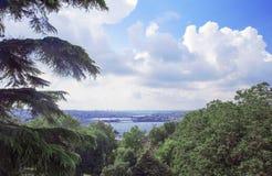 Piękny denny widok w Istanbuł Obraz Stock