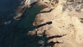 Piękny denny widok z lotu ptaka zdjęcie wideo