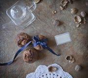 Piękny deserowy słodka bułeczka obrazy stock