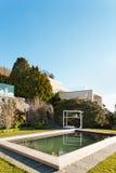 Piękny dom, basen zdjęcie royalty free