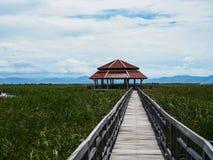Piękny dom po środku natury, Khao Sam Roi Yot, Zdjęcie Royalty Free