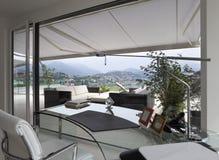 piękny domowy wewnętrzny nowożytny Fotografia Stock