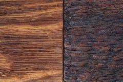Piękny drewniany tło łączący w światła i zmroku brzmieniach fotografia royalty free