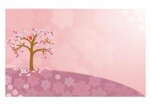 Piękny drzewo na haliźnie Obrazy Stock